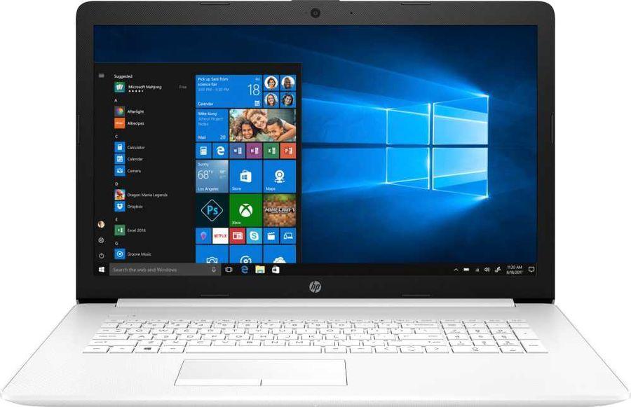 "Ноутбук HP 17-by1043ur, 17.3"",  IPS, Intel  Core i7  8565U 1.8ГГц, 16Гб, 256Гб SSD,  AMD Radeon  530 - 4096 Мб, DVD-RW, Windows 10, 8PK84EA,  белый"