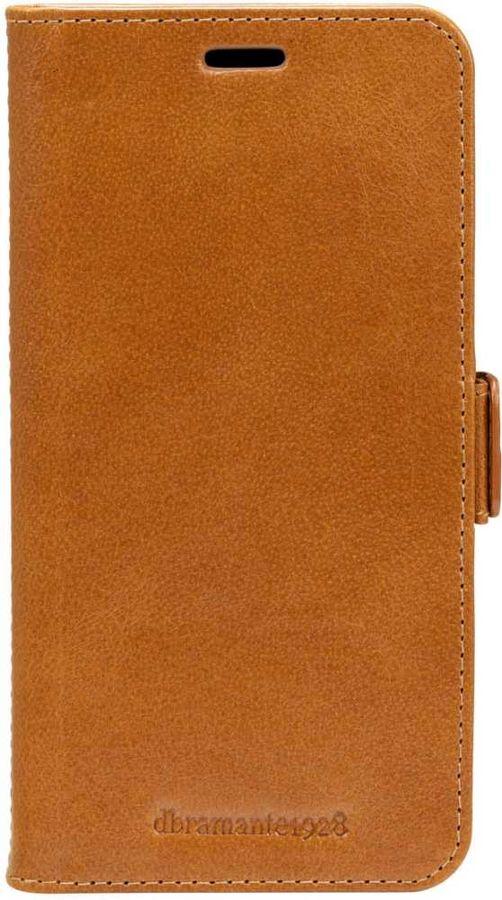 Чехол (флип-кейс)  dbramante1928 Lynge, для Apple iPhone XS Max, коричневый [lyxpgt000910]