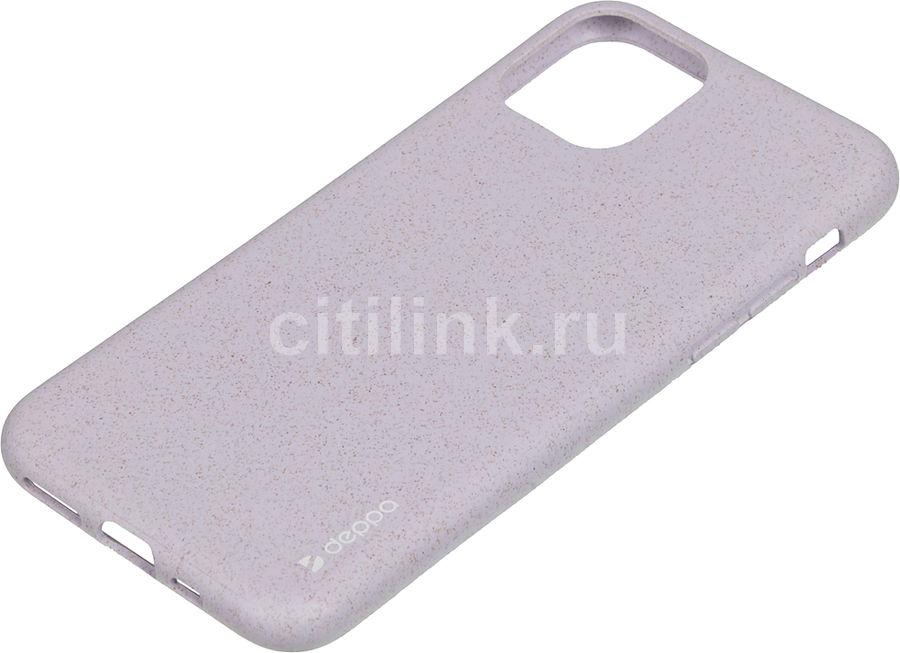 Чехол (клип-кейс) DEPPA Eco Case, для Apple iPhone 11 Pro, лаванда [87275]