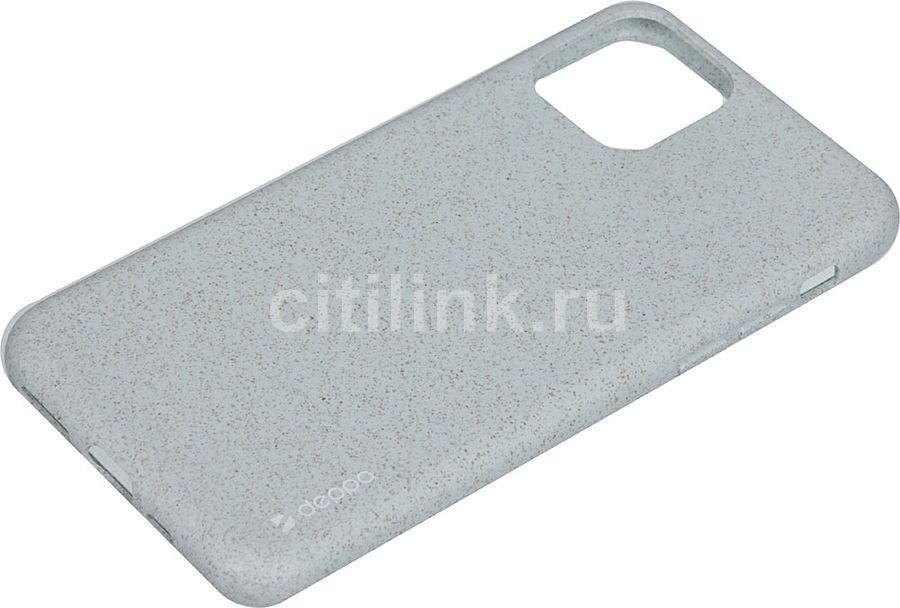 Чехол (клип-кейс) DEPPA Eco Case, для Apple iPhone 11 Pro, зеленый [87276]