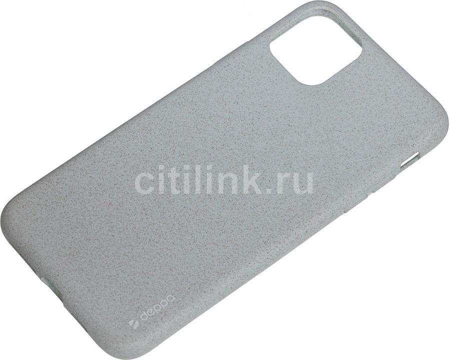 Чехол (клип-кейс) DEPPA Eco Case, для Apple iPhone 11 Pro Max, зеленый [87286]