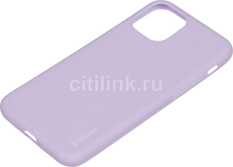 Чехол (клип-кейс) DEPPA Gel Color Case, для Apple iPhone 11 Pro, лаванда [87238]