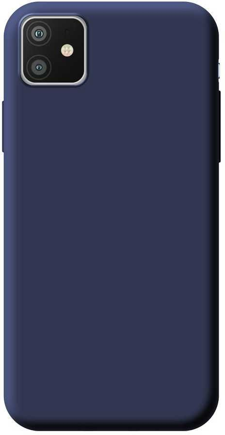 Чехол (клип-кейс) DEPPA Gel Color Basic, для Apple iPhone 11, синий [87229]