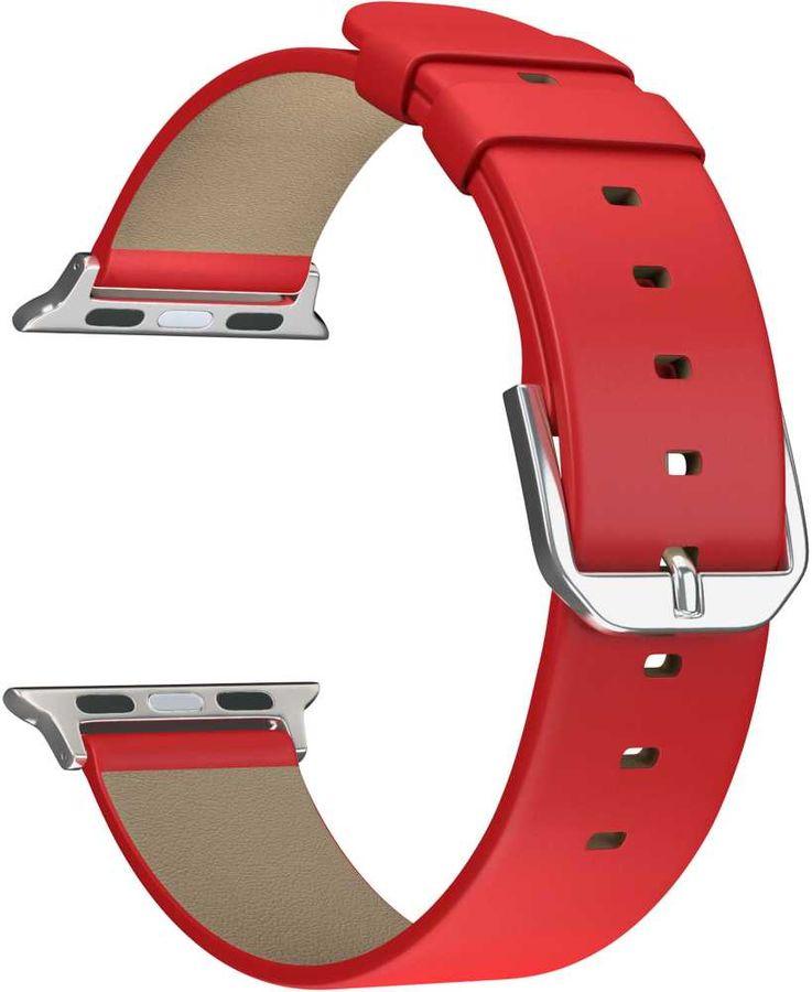 Ремешок Lyambda Mintaka для Apple Watch Series 3/4/5 красный (DSP-14-40)
