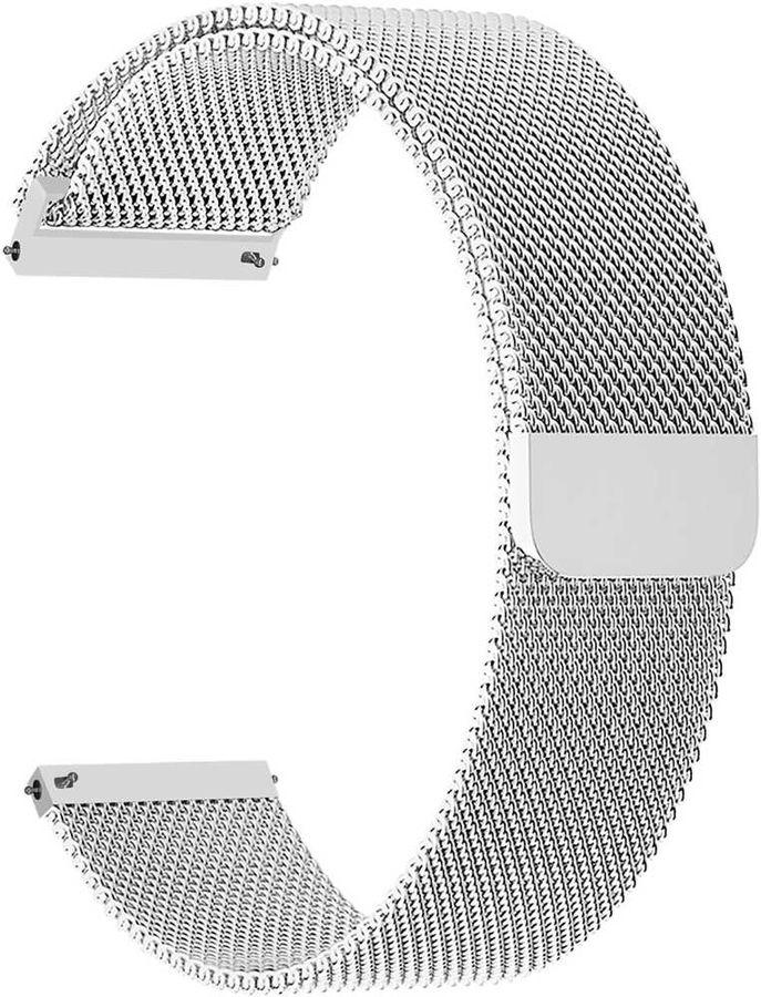 Ремешок Lyambda Capella для универсальный серебристый (DS-GM-01-20-SL)
