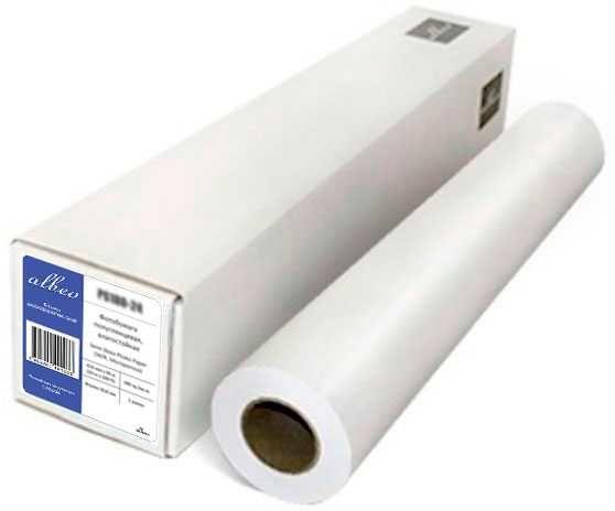"""Бумага Albeo Z80-841/175/2 33"""" 841мм-175м/80г/м2/белый для струйной печати"""