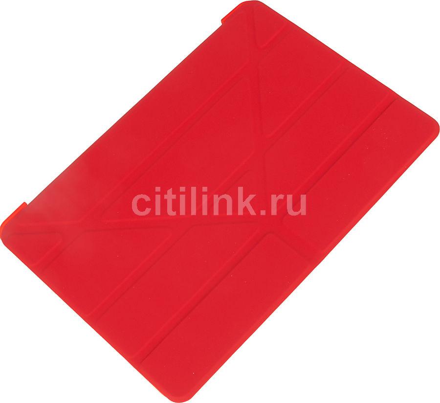 Чехол для планшета BORASCO Apple iPad 2019, красный [37938]