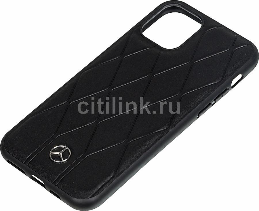 Чехол (клип-кейс)  Mercedes Hard Case, для Apple iPhone 11 Pro, черный [mehcn58mulbk]