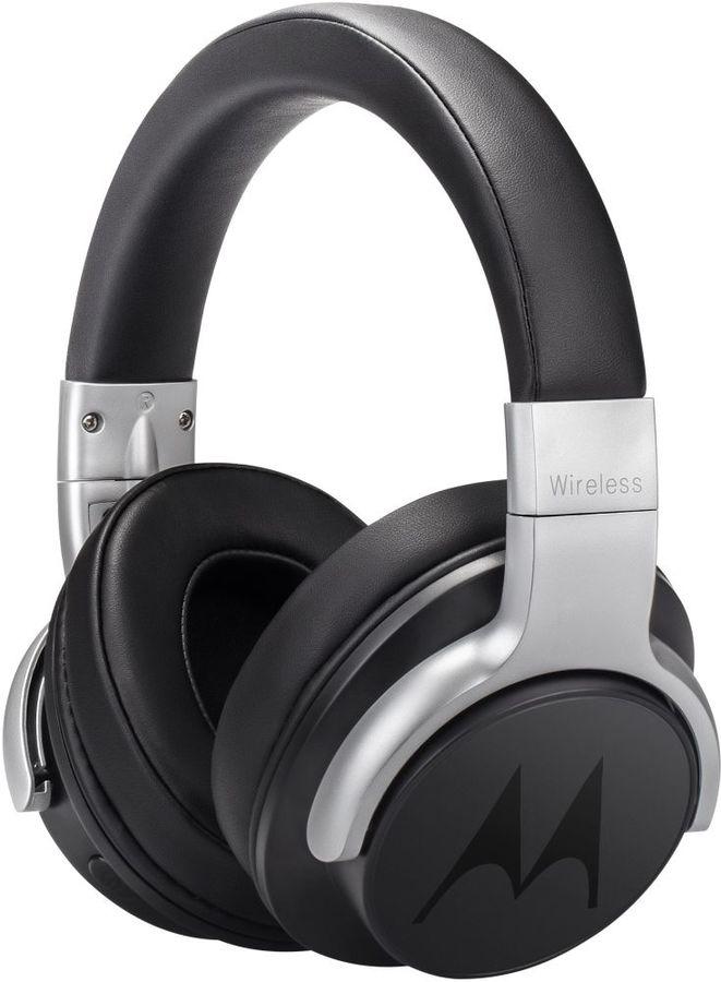 Наушники с микрофоном MOTOROLA Pulse Escape ANC 500, 3.5 мм/Bluetooth, накладные, черный [sh040bk]
