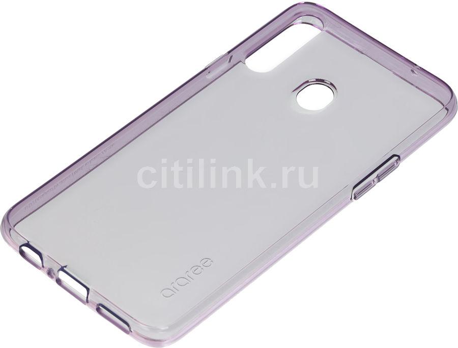 Чехол (клип-кейс) SAMSUNG araree A cover, для Samsung Galaxy A20s, фиолетовый [gp-fpa207kdaer]