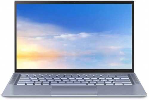 """Ультрабук ASUS Zenbook UX431FA-AM020, 14"""",  Intel  Core i3  8145U 2.1ГГц, 4Гб, 256Гб SSD,  Intel UHD Graphics  620, Endless, 90NB0MB3-M01680,  голубой"""