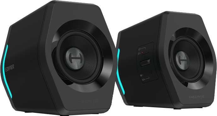Колонки Bluetooth EDIFIER G2000,  2.0,  черный