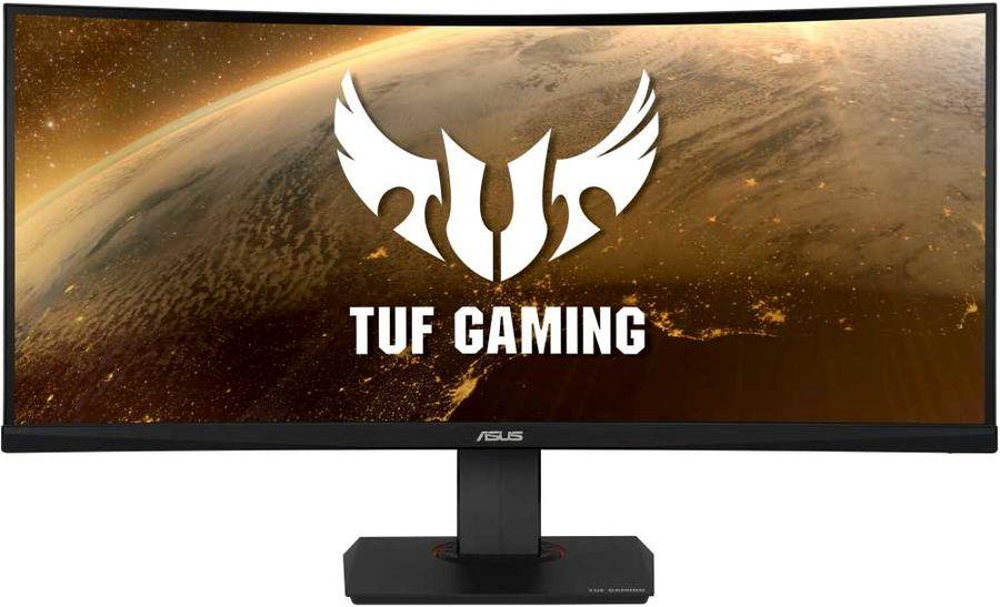 """Монитор игровой ASUS TUF Gaming VG35VQ 35"""" темно-серый [90lm0520-b01170]"""