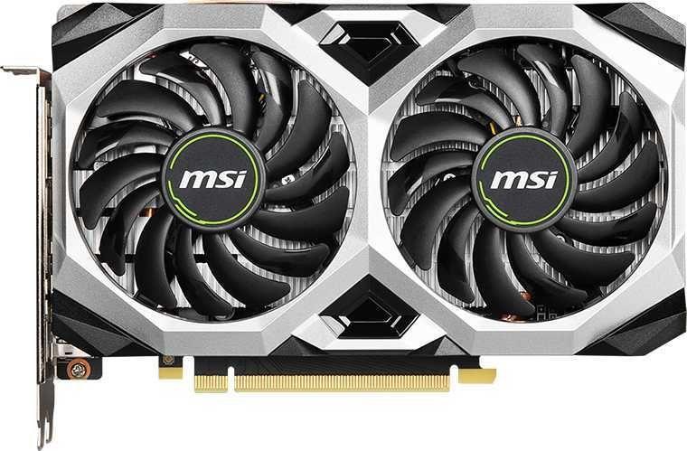 Видеокарта MSI nVidia  GeForce GTX 1660SUPER ,  GTX 1660 SUPER VENTUS XS OC,  6Гб, GDDR6, OC,  Ret
