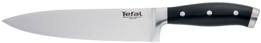 Нож Tefal K1410274 (2100109057) стальной шеф лезв.200мм