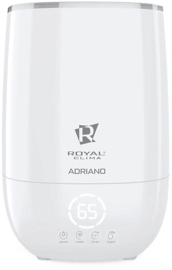 Увлажнитель воздуха ROYAL CLIMA RUH-AD300/4.8Е-WT,  белый  / серебристый