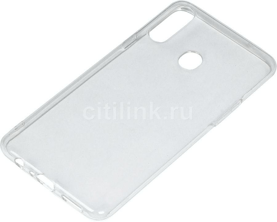 Чехол (клип-кейс) DF sCase-84, для Samsung Galaxy A20s, прозрачный
