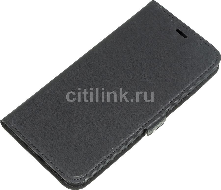 Чехол (флип-кейс) DF sFlip-55, для Samsung Galaxy A10s, черный [df sflip-55 (black)]