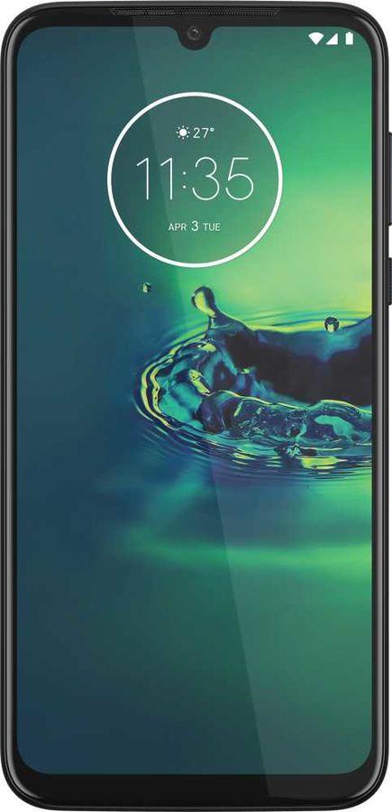 Смартфон MOTOROLA G8 Plus 64Gb,  синий космический