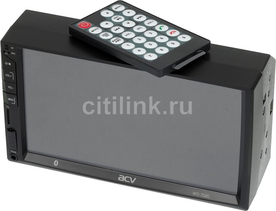 Купить Автомагнитола ACV WD-7020 в интернет-магазине СИТИЛИНК, цена на Автомагнитола ACV WD-7020 (1190120) - Воротынец