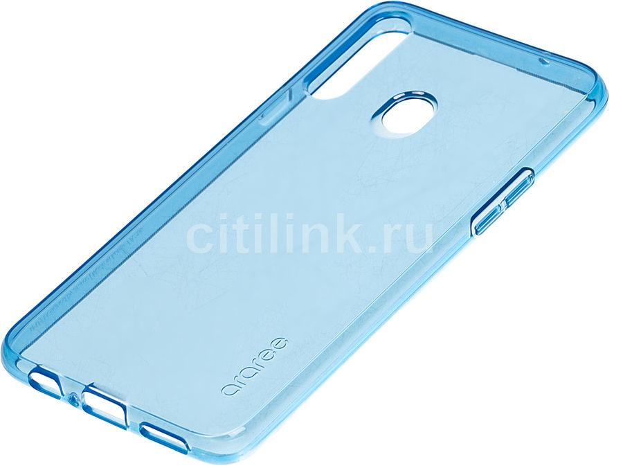 Чехол (клип-кейс) SAMSUNG araree A cover, для Samsung Galaxy A20s, синий [gp-fpa207kdalr]