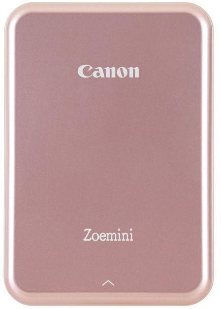 Компактный фотопринтер CANON Zoemini,  розовый/белый [3204c004]