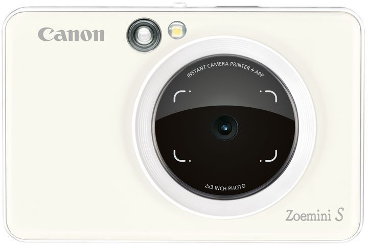 Цифровой фотоаппарат CANON Zoemini S,  белый