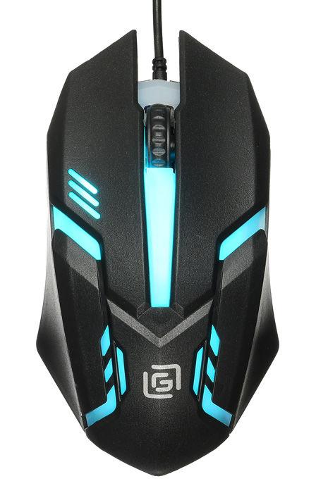 Мышь OKLICK 396M INSOMNIA, проводная, USB, черный