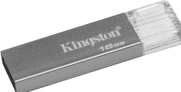 Флешка USB KINGSTON DataTraveler DT mini 7 16Гб, USB3.1, серебристый [dtm7/16gb]