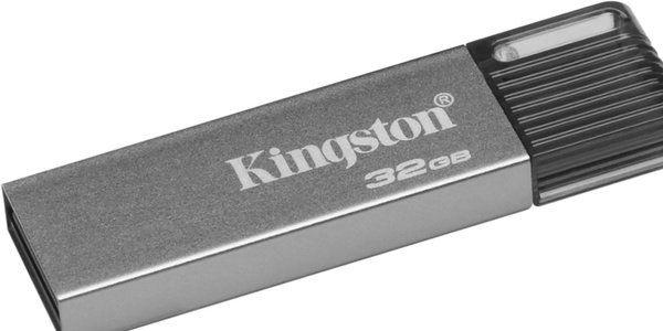 Флешка USB KINGSTON DataTraveler DT mini 7 32Гб, USB3.1, серебристый [dtm7/32gb]