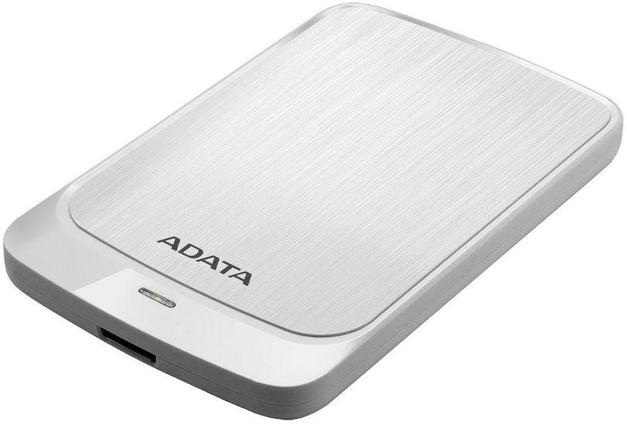 Внешний жесткий диск A-DATA HV320, 2Тб, белый [ahv320-2tu31-cwh]