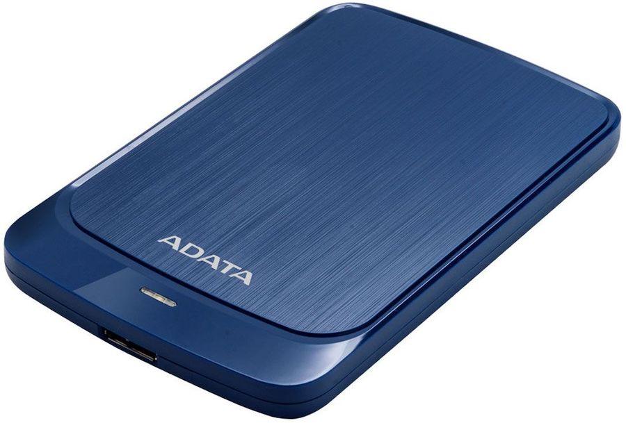 Внешний жесткий диск A-DATA HV320, 2Тб, синий [ahv320-2tu31-cbl]