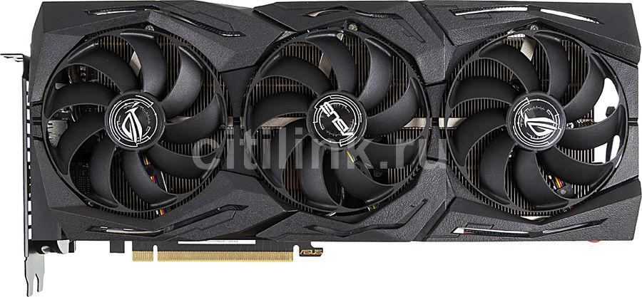 Видеокарта ASUS nVidia  GeForce RTX 2070SUPER ,  ROG-STRIX-RTX2070S-O8G-GAMING,  8Гб, GDDR6, OC,  Ret