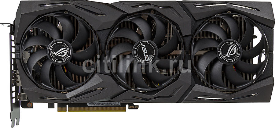 Видеокарта ASUS nVidia  GeForce RTX 2060SUPER ,  ROG-STRIX-RTX2060S-8G-EVO-GAMING,  8Гб, GDDR6, Ret