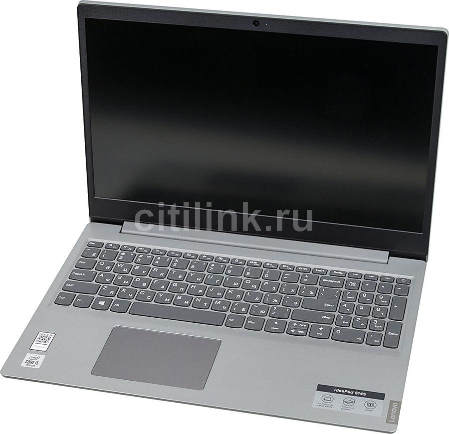 Ноутбук LENOVO IdeaPad S145-15IIL, 81W8001RRK,  серый