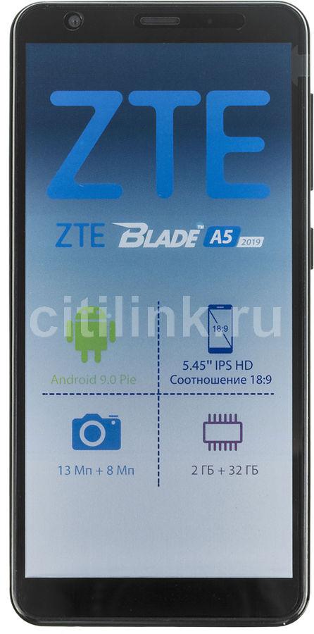 Смартфон ZTE Blade A5 2019 32Gb,  черный