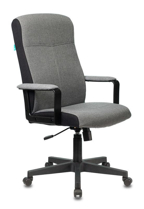 Кресло руководителя БЮРОКРАТ DOMINUS, серый