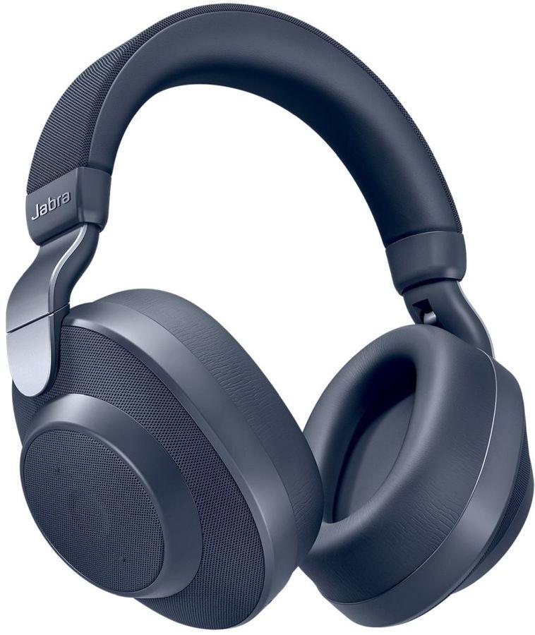 Наушники с микрофоном JABRA Elite 85h, 3.5 мм/Bluetooth, мониторные, синий [100-99030001-60]