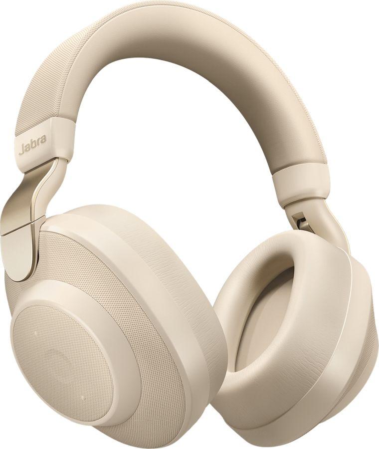 Наушники с микрофоном JABRA Elite 85h, 3.5 мм/Bluetooth, мониторные, бежевый [100-99030002-60]