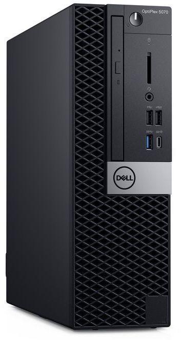 Компьютер  DELL Optiplex 5070,  Intel  Core i7  9700,  DDR4 8Гб, 256Гб(SSD),  Intel UHD Graphics 630,  DVD-RW,  Windows 10 Professional,  черный [5070-4814]