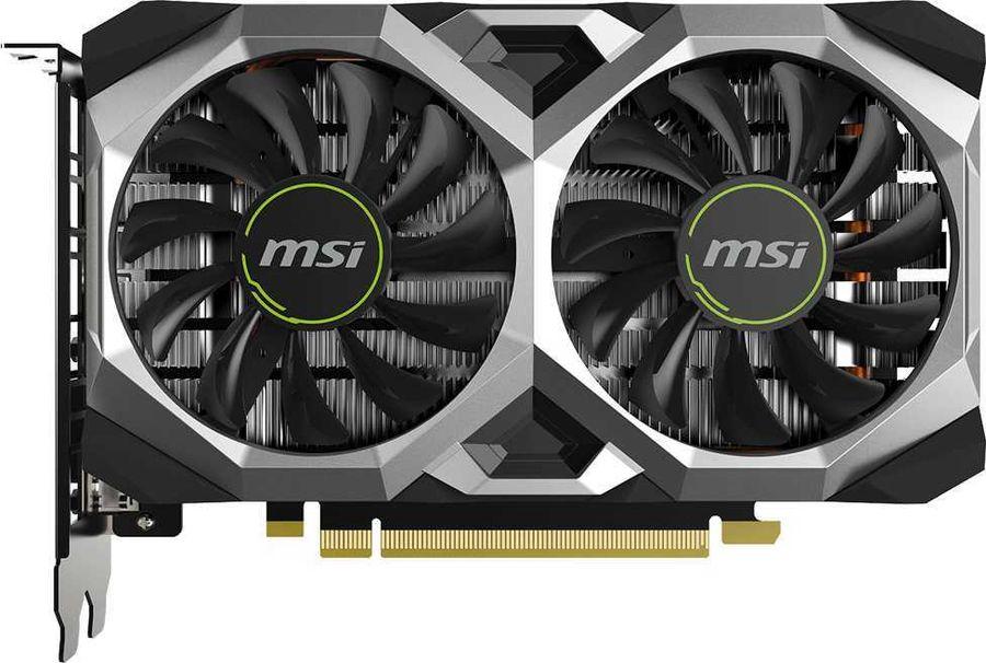 Видеокарта MSI nVidia  GeForce GTX 1650SUPER ,  GTX 1650 SUPER VENTUS XS OC,  4Гб, GDDR6, OC,  Ret