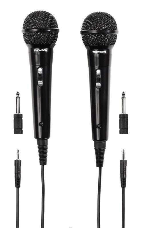 Микрофон THOMSON M135D,  черный [00131772]
