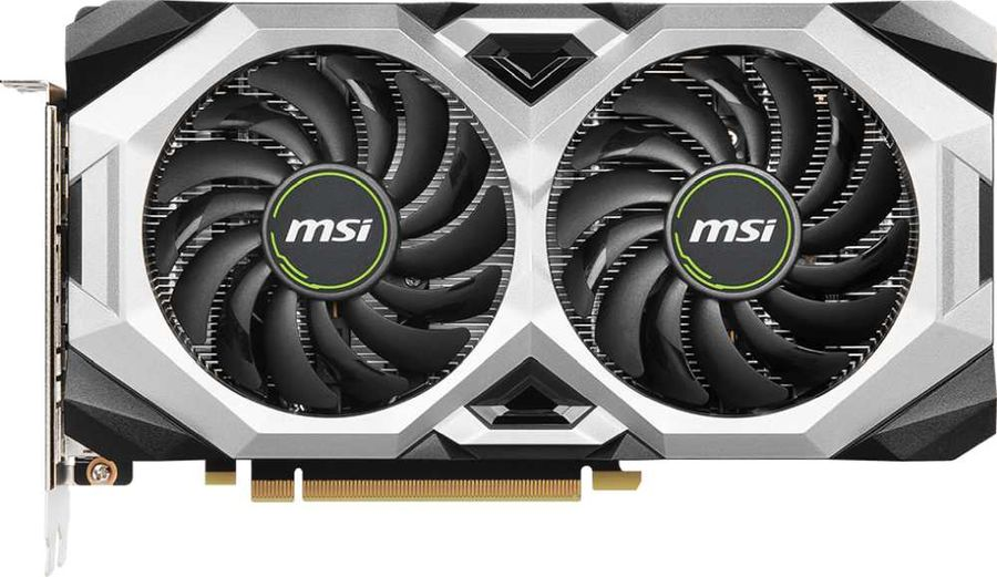 Видеокарта MSI nVidia  GeForce RTX 2070 ,  RTX 2070 VENTUS GP 8G,  8Гб, GDDR6, Ret