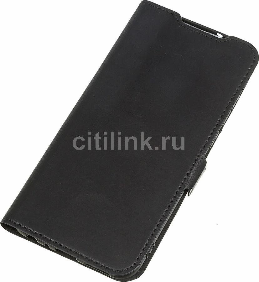 Чехол (флип-кейс) DF xiFlip-55, для Xiaomi Redmi Note 8T, черный [df xiflip-55 (black)]