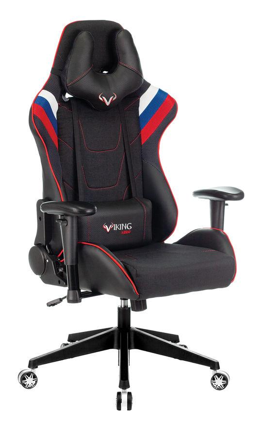 Обзор товара кресло игровое БЮРОКРАТ VIKING 4 AERO, черный (1197913) в интернет-магазине СИТИЛИНК - Самара