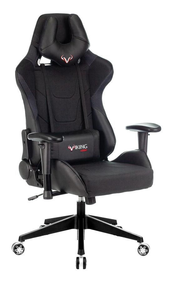 Кресло игровое БЮРОКРАТ VIKING 4 AERO, черный