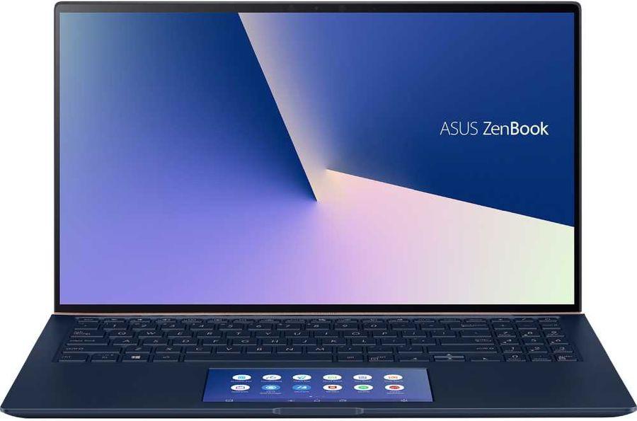"""Ультрабук ASUS Zenbook UX534FT-AA048R, 15.6"""",  IPS, Intel  Core i5  8265U 1.6ГГц, 8Гб, 512Гб SSD,  nVidia GeForce  GTX 1650 MAX Q - 4096 Мб, Windows 10 Professional, 90NB0NK3-M01430,  синий"""