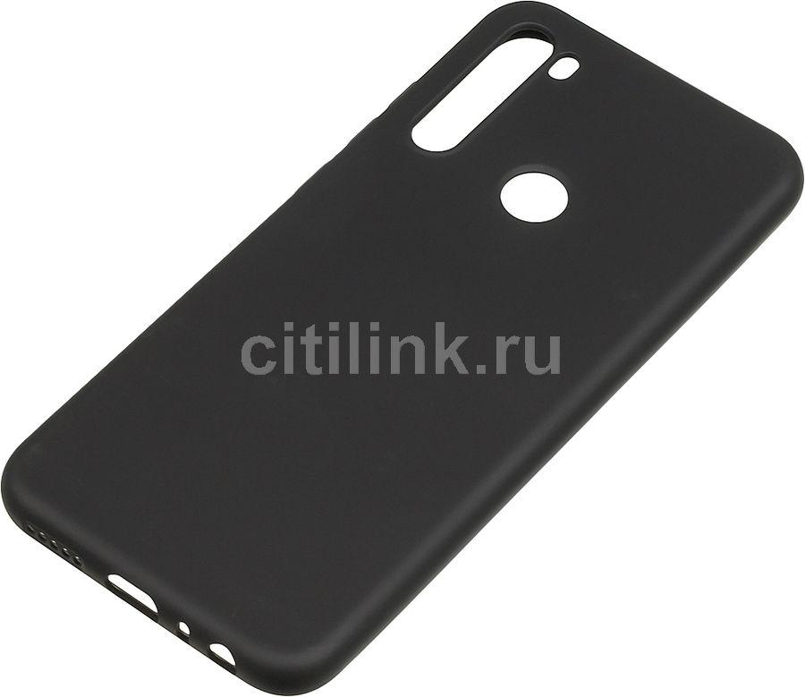 Чехол (клип-кейс) BORASCO Soft Touch, для Xiaomi Redmi Note 8T, черный [38166]