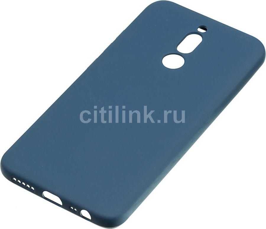Чехол (клип-кейс) DF xiOriginal-05, для Xiaomi Redmi 8, синий [df xioriginal-05 (blue)]
