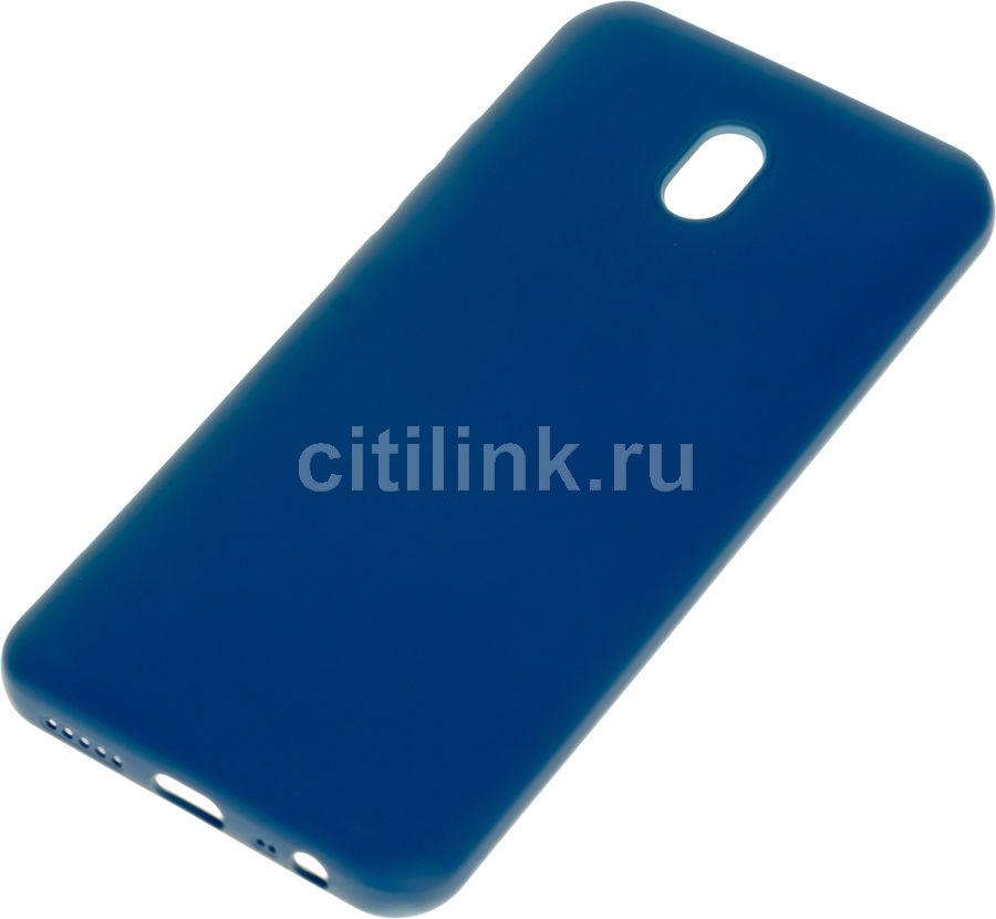 Чехол (клип-кейс) DF xiOriginal-04, для Xiaomi Redmi 8A, синий [df xioriginal-04 (blue)]